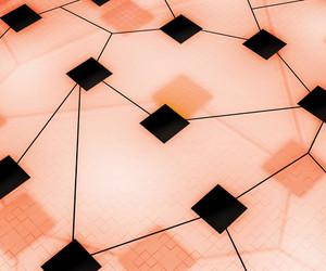 Digital Network Image Background