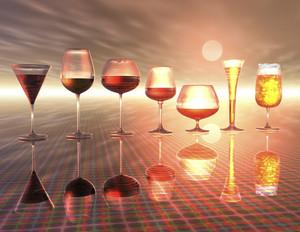 Digital Visualization Of Drinks
