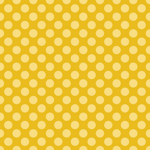 Yellow Dinosaur Paper With A Polka Dot Pattern