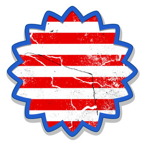 Dirty Banner Tag Vector Us 4th Of July Independence Day Vector Design
