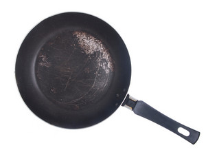 Dirty Frying Pan