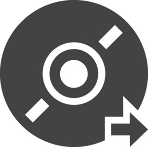 Disc Preview Glyph Icon