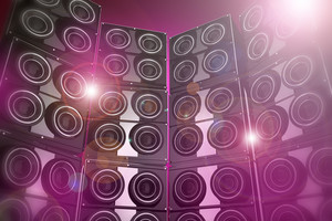 Disco Party Background