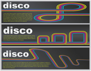 Disco Web Banners