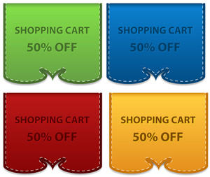 Discount Coupons Vectors