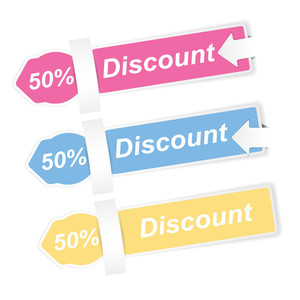 Discount Labels Vectors