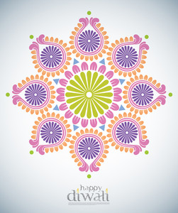 Diwali Kolam Patterns