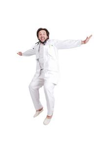 Doctor full of joy