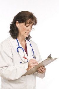 Doctor Making Notes
