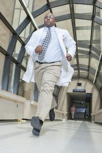 Doctors in hallway