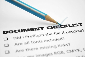 Document Checklist