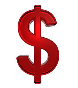 Dollar Sign From Ruby Alphabet Set