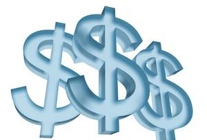 Dollar Symbols 3d