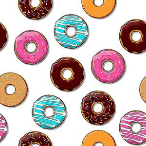 Donut Seamless Texture.