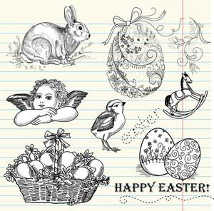 Doodle Easter Set