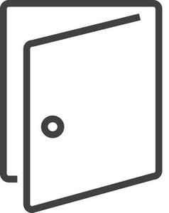 Door 2 Minimal Icon