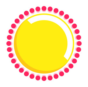 Dotted Circle Design