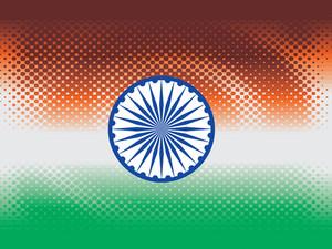 Dotted Flag Background Illustration