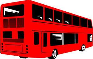 Double Decker Coach Bus