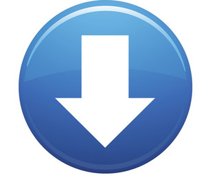 Down Arrow Blue Circle