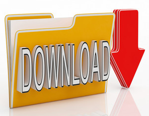 Download File Shows Downloading Software