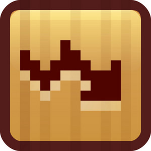 Downward Trend Brown Tiny App Icon