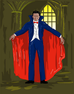 Dracula Standing