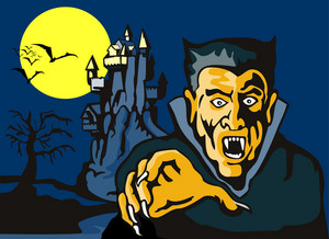 Dracula With Castle