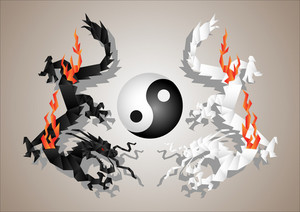 Dragons Yin And Yang