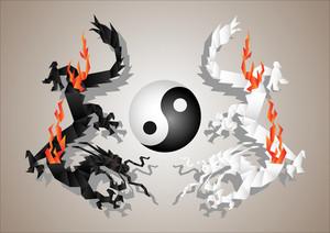 Dragons Yin And Yang