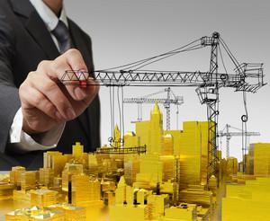 Draws Golden Building Development Concept