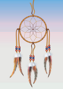 Dreamcatcher Vector Graphic