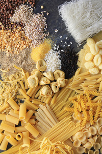 Dried Pasta Rice Seeds Grains Varieties