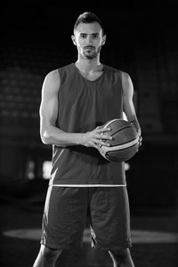 Basketball Player Portrait