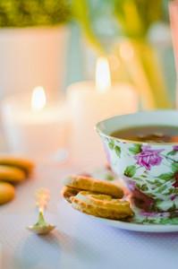 English Tea With Cookies