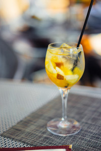 White Sangria Outdoors