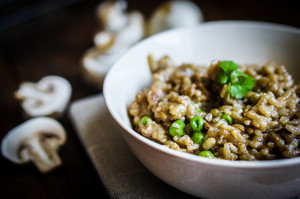 Risotto With Mushrooms