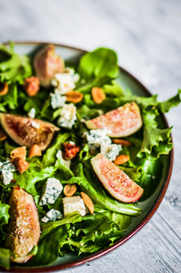 Green Salad With Figs