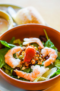 Thai Salad With Shrimp And Vegetables
