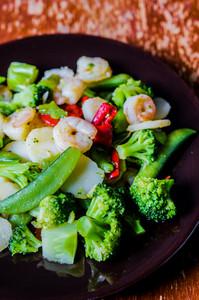 Stri Fry With Shrimp