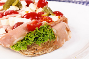 Open Faced Sandwich