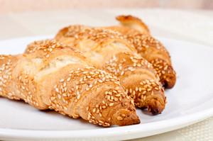 Sesame Croissants