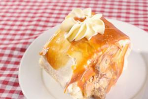 Dulce Cake In Plate