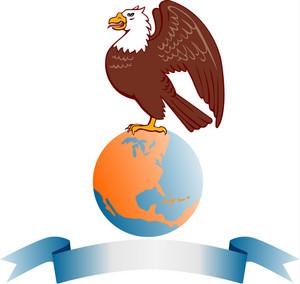 Eagle Globe Banner