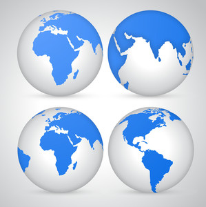 Earth Icon Vectors