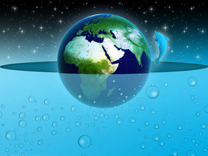 Earth In Water