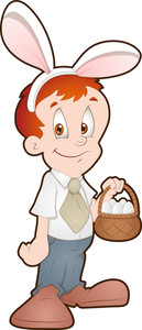 Easter Boy - Cartoon Character