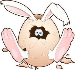 Easter Bunny - Cartoon Character