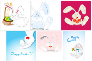 Easter Bunny Vectors
