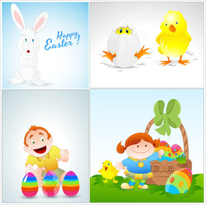Easter Cartoons Graphic